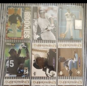 Micheal Jordan Baseball Rookie Card and 8 more
